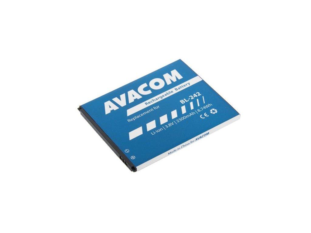 Baterie do mobilu Lenovo A6000 Li-Ion 3,8V 2300mAh (náhrada BL242)