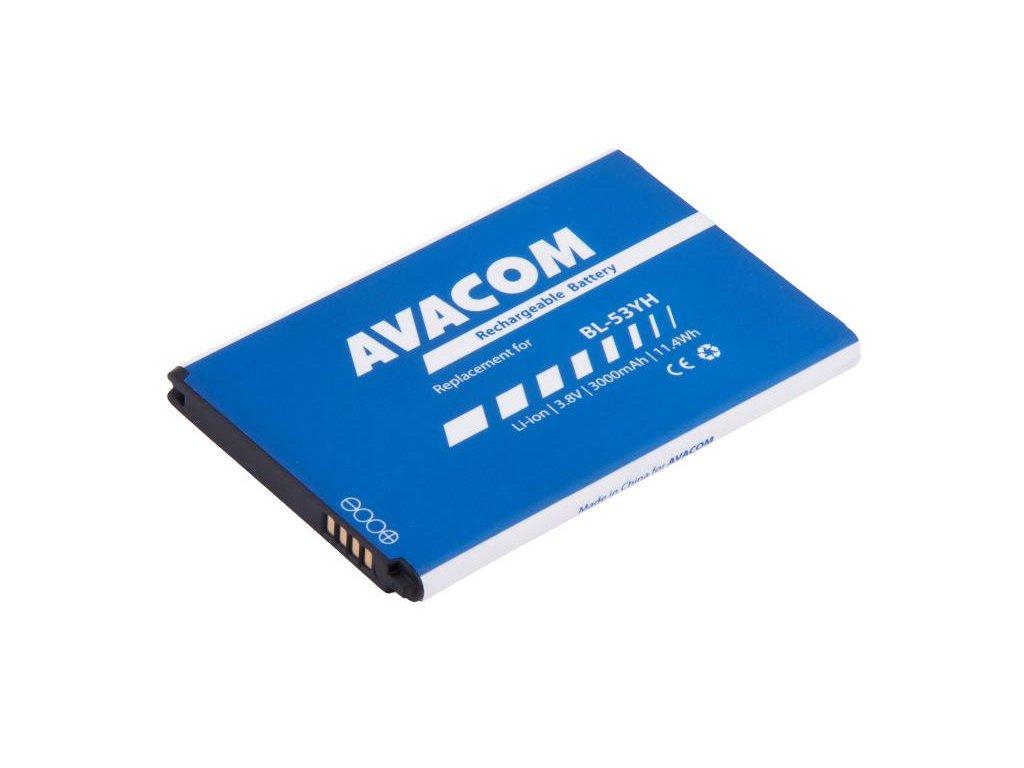 Baterie do mobilu LG D855 G3 Li-Ion 3,8V 3000mAh (náhrada BL-53YH)