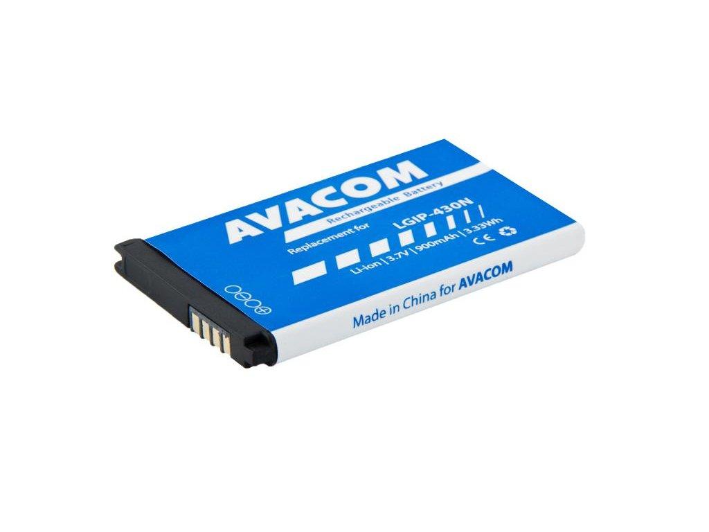 Baterie do mobilu LG GM360 Li-Ion 3,7V 900mAh, (náhrada  LGIP-430N)