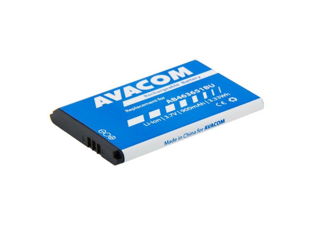 Baterie do mobilu Samsung B3410 Corby plus Li-Ion 3,7V 900mAh (náhrada AB463651BU)