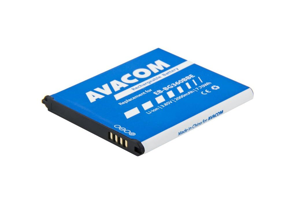 Baterie do mobilu Samsung Galaxy Core Prime Li-Ion 3,85V 2000mAh, (náhrada EB-BG360BBE)