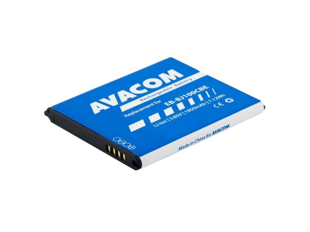 Baterie do mobilu Samsung Galaxy J1 Li-Ion 3,85V 1850mAh, (náhrada EB-BJ100CBE)