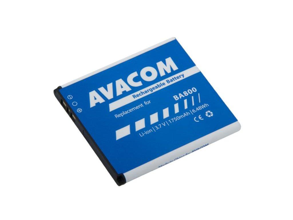 Baterie do mobilu Sony Ericsson Li-Ion 3,7V 1750mAh (náhrada BA800)