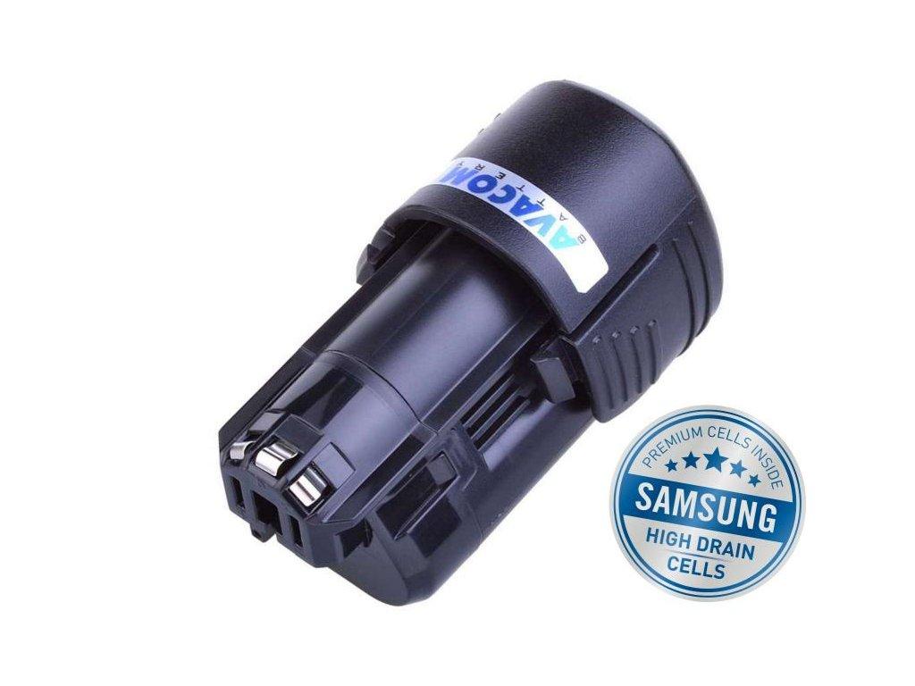 BOSCH 12 V Power for ALL Bosch, Li-Ion 10,8V 2000mAh, články SAMSUNG