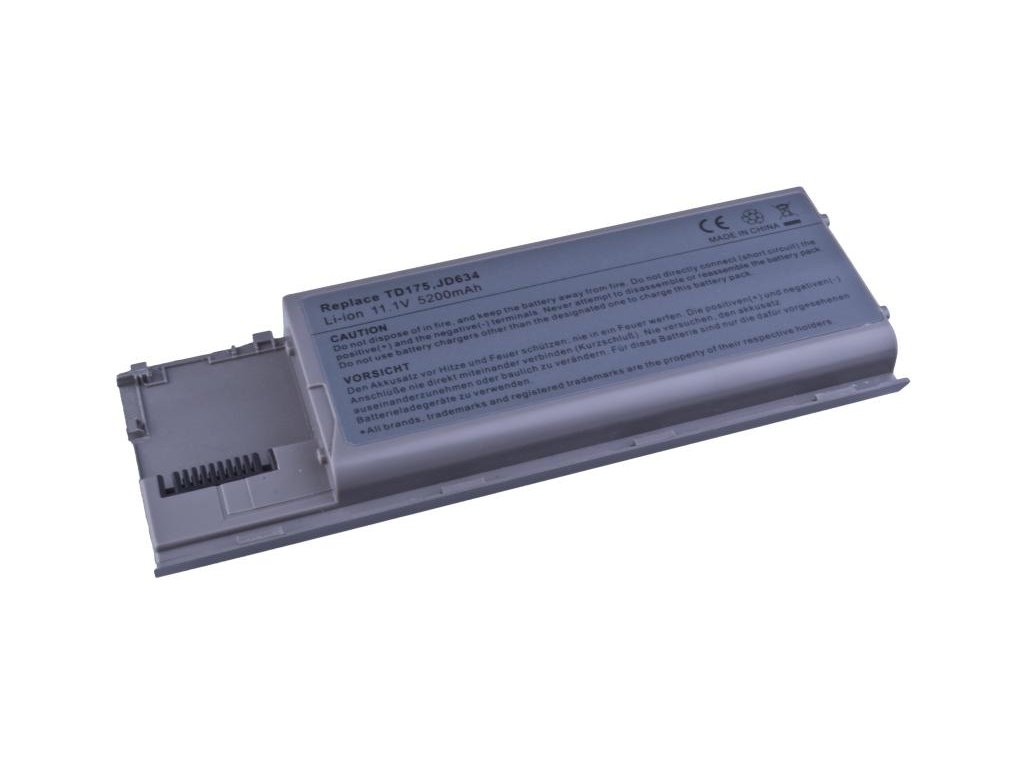 Dell Latitude D620, D630 Li-Ion 11,1V 5200mAh cS/58Wh