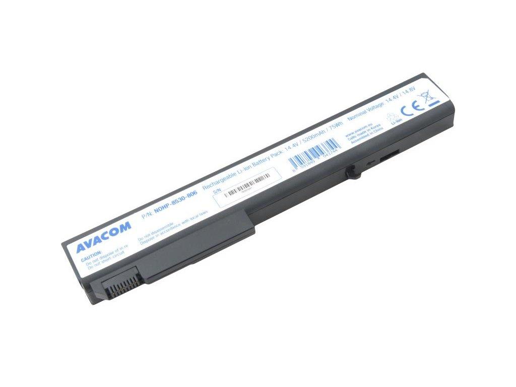 HP Business Notebook 8530p/w, 8730p/w series Li-Ion 14,4V 5200mAh/75Wh