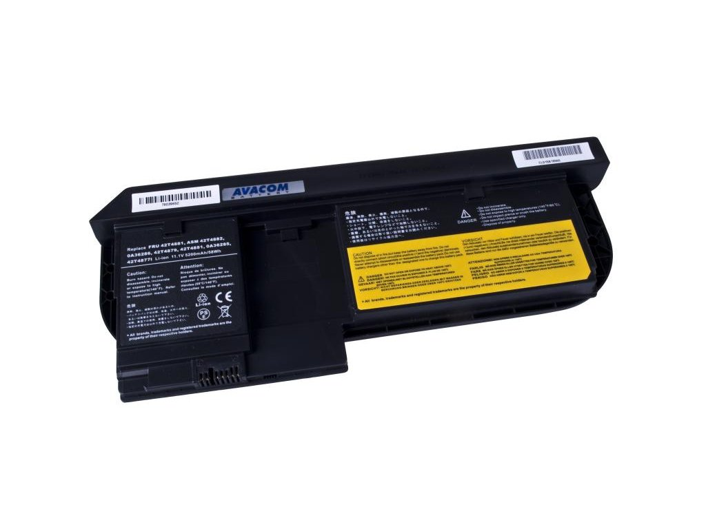 Lenovo X220 Tablet series Li-Ion 11,1V 5200mAh/58Wh