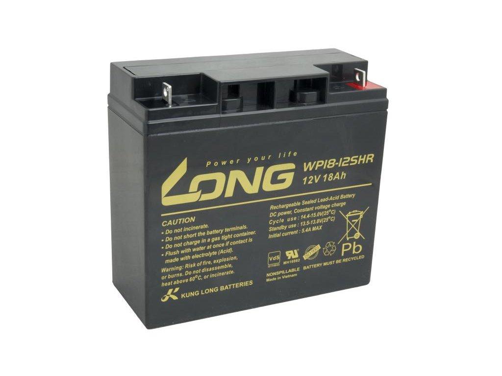 LONG baterie 12V 18Ah F3 HighRate (WP18-12SHR)