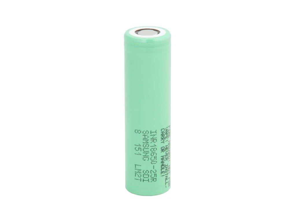 Nabíjecí průmyslová baterie 18650 Samsung 2500mAh 3,7V Li-Ion