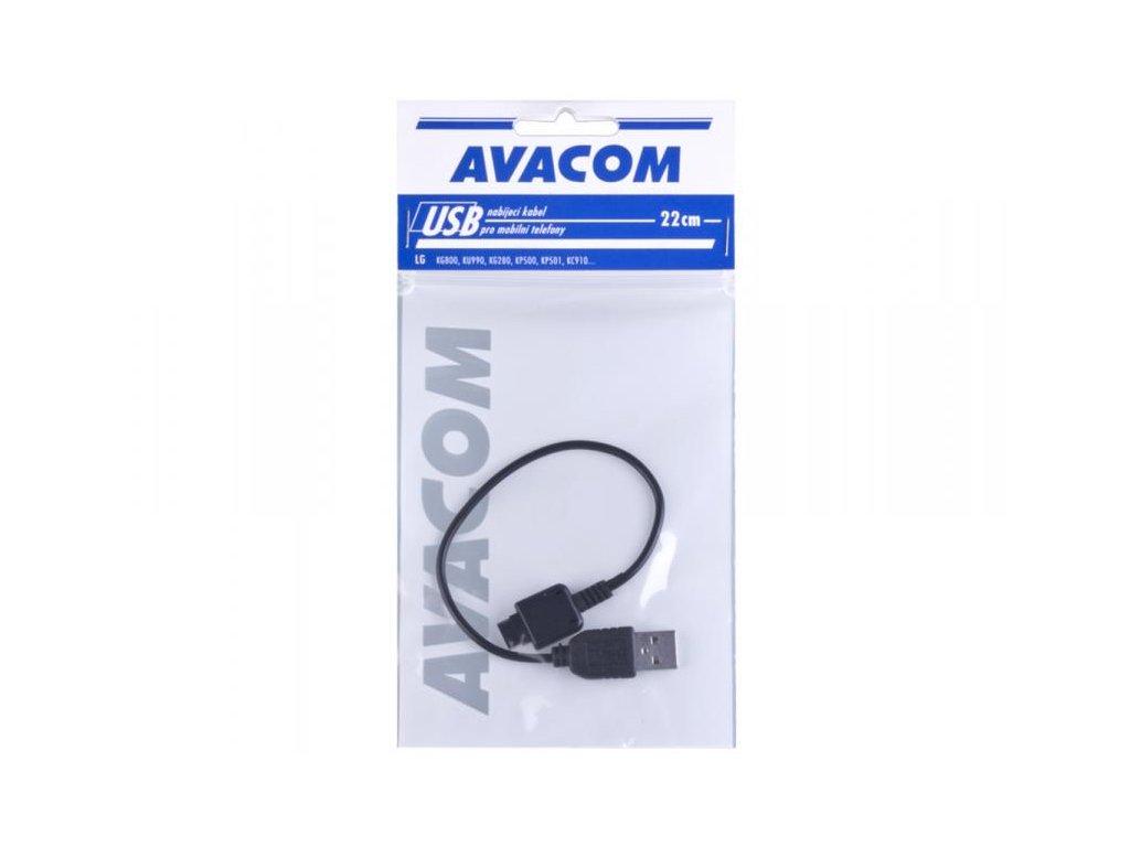 Nabíjecí USB kabel pro telefony LG KG800, KU990, KS360 (22cm)