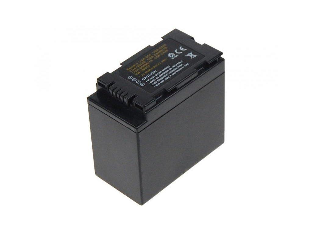 Panasonic CGA-D54S,CGA-D54SE Li-Ion 7.2V 5850mAh 43.2Wh - Doprodej