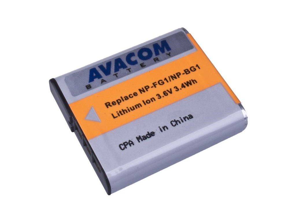 Sony NP-BG1N, FG1 Li-Ion 3.6V 950mAh 3.4Wh