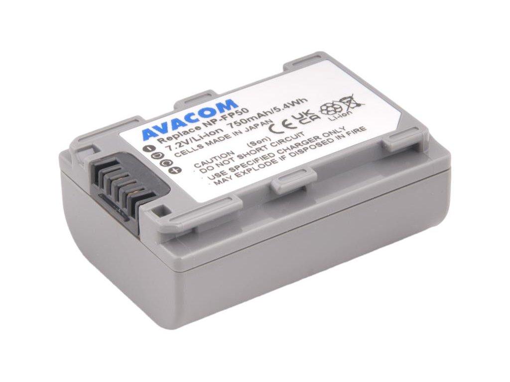 Sony NP-FP50 Li-Ion 7.2V 750mAh 5.4Wh