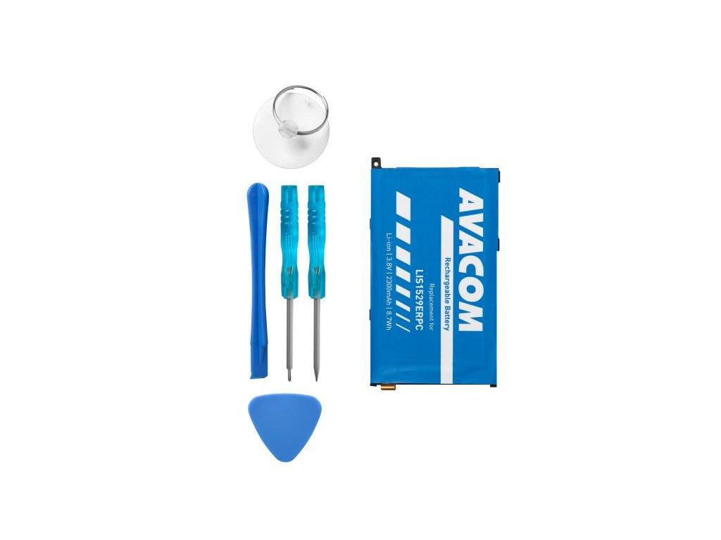 Baterie pro Sony Xperia Z1 Compact, Li-Ion 3,8V 2300mAh (náhrada LIS1529ERPC)