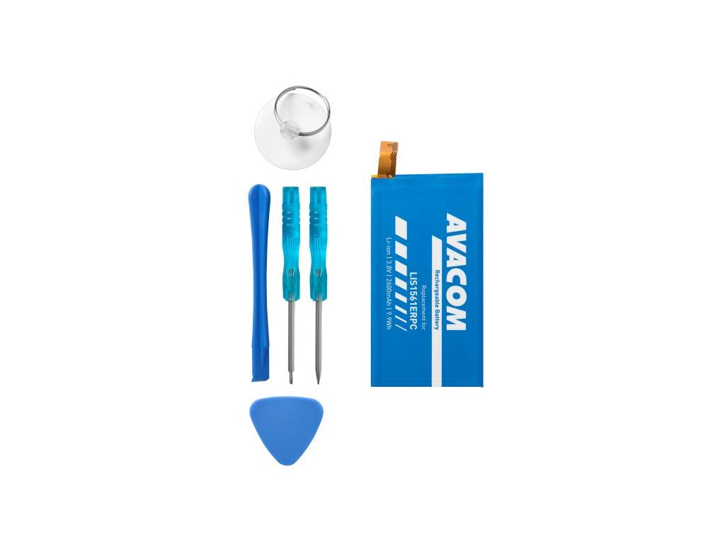 Baterie pro Sony Xperia Z3 Compact, Li-Ion 3,8V 2600mAh (náhrada LIS1561ERPC)
