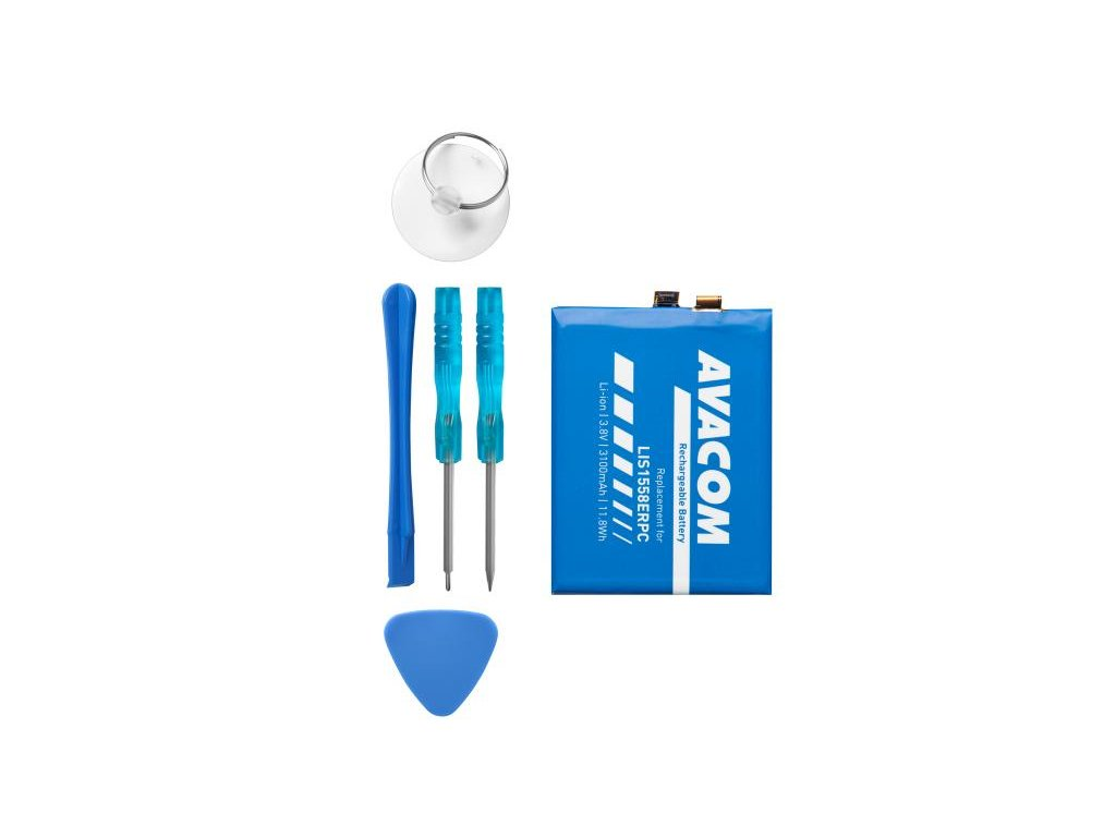 Baterie pro Sony Xperia Z3, Li-Ion 3,8V 3100mAh (náhrada LIS1558ERPC)