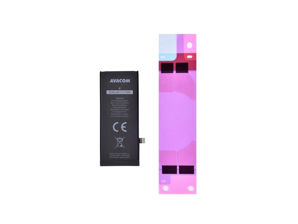 Baterie pro Apple iPhone 8 - vysokokapacitní, Li-Ion 3,82V 2030mAh (náhrada 616-00357)