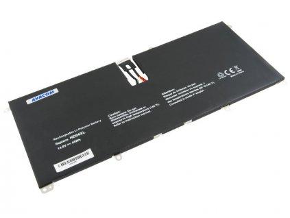 HP Envy Spectre XT 13 Series Li-Pol 14,8V 3000mAh 45Wh