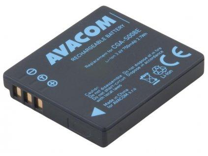Panasonic CGA-S008E Li-Ion 3.6V 750mAh 2.7Wh