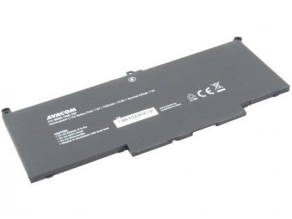 Dell Latitude 7280, 7480 Li-Pol 7,6V 7500mAh 57Wh
