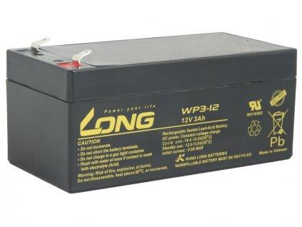 LONG baterie 12V 3Ah F1 (WP3-12)