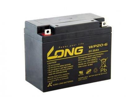LONG baterie 6V 20Ah F3 (WP20-6)