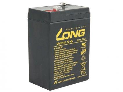 LONG baterie 6V 4,5Ah F1 (WP4.5-6)