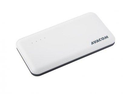 AVACOM externí baterie PWRB-8001W, Li-Pol, kapacita 8000mAh, výstup 5V/2.1A, bílá