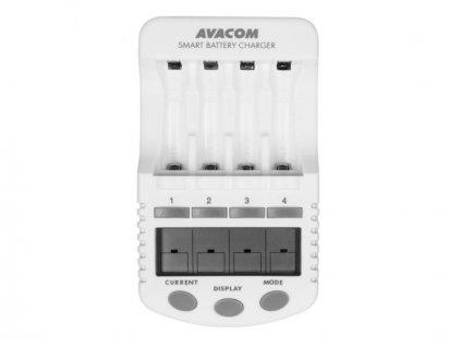 AVACOM JVL-505 Inteligentní nabíječka baterií (AA, AAA)