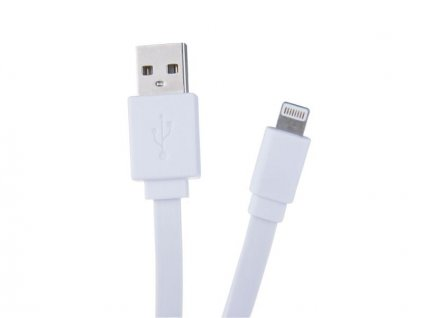 AVACOM LIG-120W kabel USB - Lightning, 120cm, bílá