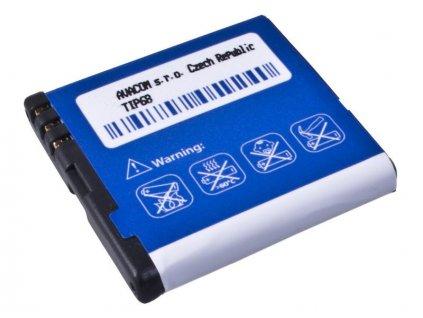Baterie do mobilu Nokia E51, N81, N81 8GB, N82, Li-Ion 3,6V 1100mAh (náhrada BP-6MT)