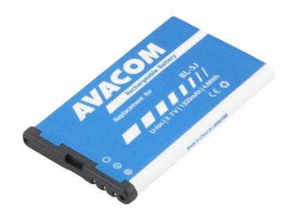 Baterie do mobilu Nokia 5230, 5800, X6 Li-Ion 3,7V 1320mAh (náhrada BL-5J)