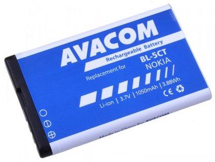 Baterie do mobilu Nokia 6303, 6730, C5, Li-Ion 3,7V 1050mAh  (náhrada BL-5CT)
