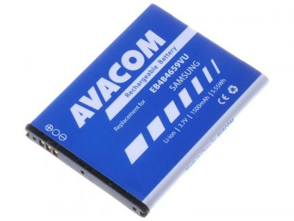 Baterie do mobilu Samsung Galaxy W Li-Ion 3,7V 1500mAh (náhrada EB484659VU)