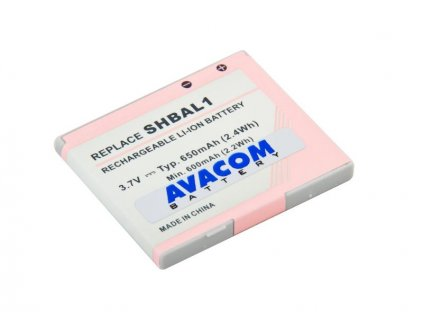 Baterie do mobilu Sharp 770SH Li-Ion 3,7V 650mAh (náhrada XN-1BT77)