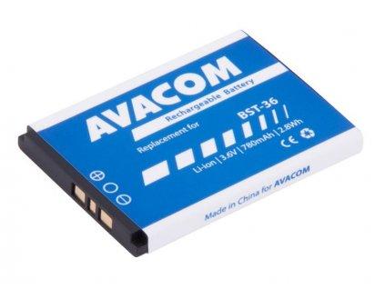 Baterie do mobilu Sony Ericsson J300, W200 Li-Ion 3,7V 780mAh (náhrada BST-36)