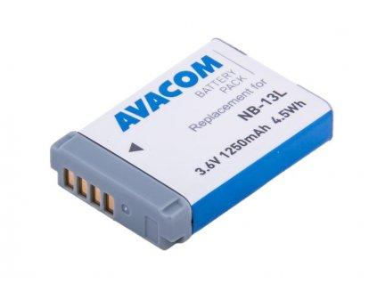 Canon NB-13L Li-Ion 3.6V 1250mAh 4.5Wh AVA