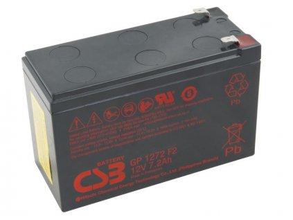 CSB baterie 12V 7,2Ah F2 (GP 1272)