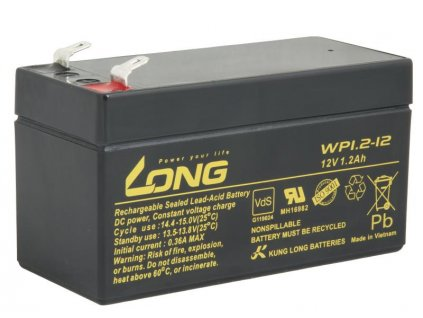 LONG baterie 12V 1,2Ah F1 (WP1.2-12)