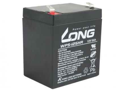 LONG baterie 12V 5Ah F2 HighRate (WP5-12SHR)