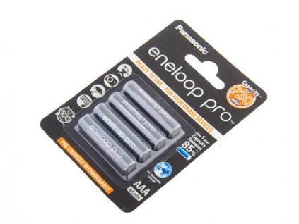 Nabíjecí baterie AAA Panasonic Eneloop Pro 930mAh Ni-MH 4ks Blistr