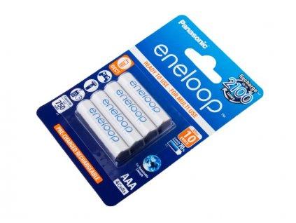 Nabíjecí baterie AAA Panasonic Eneloop 800mAh Ni-MH 4ks Blistr