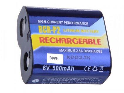 Nabíjecí fotobaterie CR-P2, DL223A Li-Fe 6V 500mAh 3Wh