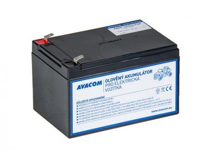 Náhradní baterie (olověný akumulátor) 12V 12Ah do vozítka Peg Pérego F2