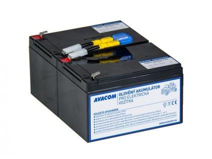 Náhradní baterie (olověný akumulátor) 24V 12Ah do vozítka Peg Pérego F2