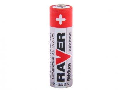 Nenabíjecí baterie AA Raver Lithium 1ks Bulk