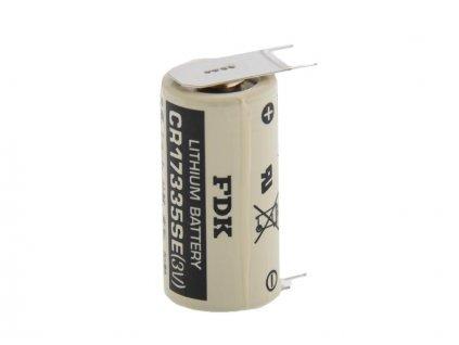 Nenabíjecí baterie 2/3A CR-17335SE-FT1 Sanyo FDK Lithium 1ks Bulk - s vývody do PCB