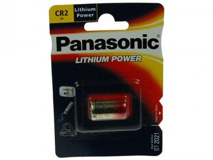 Nenabíjecí fotobaterie CR2 Panasonic Lithium 1ks Blistr