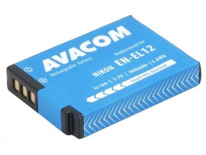 Nikon EN-EL12  Li-Ion 3.7V 980mAh 3.6Wh