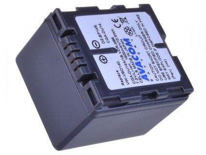 Panasonic CGA-DU14/CGR-DU14/ VW-VBD14, Hitachi DZ-BP14S Li-Ion 7.2V 1500mAh 10.8Wh černá